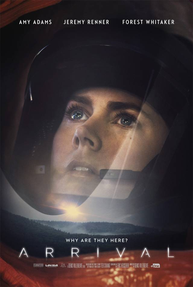 Arrival Amy Adams Teaser Character Poster USA 01