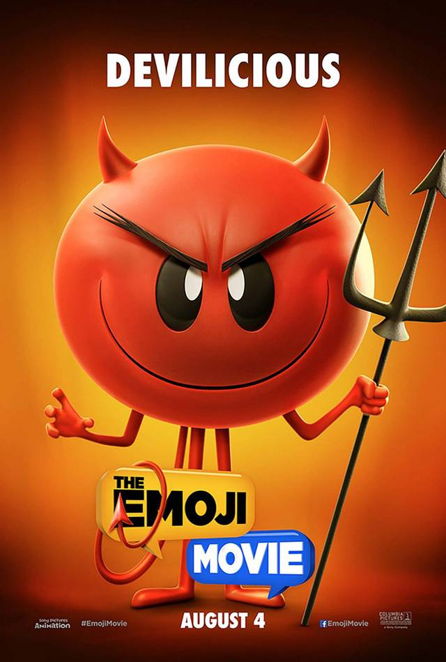 The Emoji Movie Teaser Character Poster USA 01