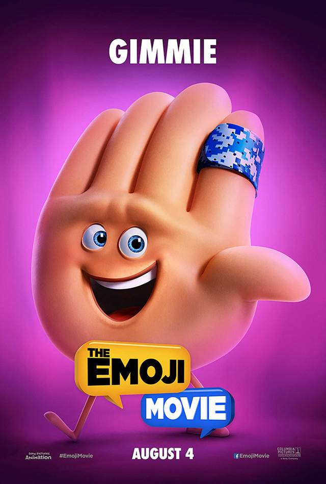 The Emoji Movie Teaser Character Poster USA 02
