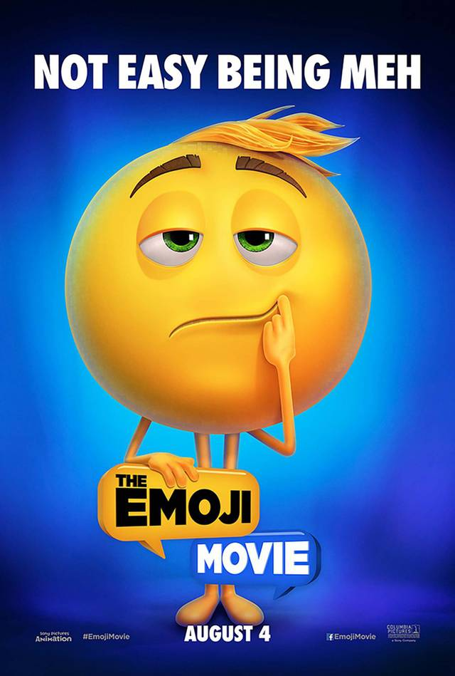 The Emoji Movie Teaser Character Poster USA 03