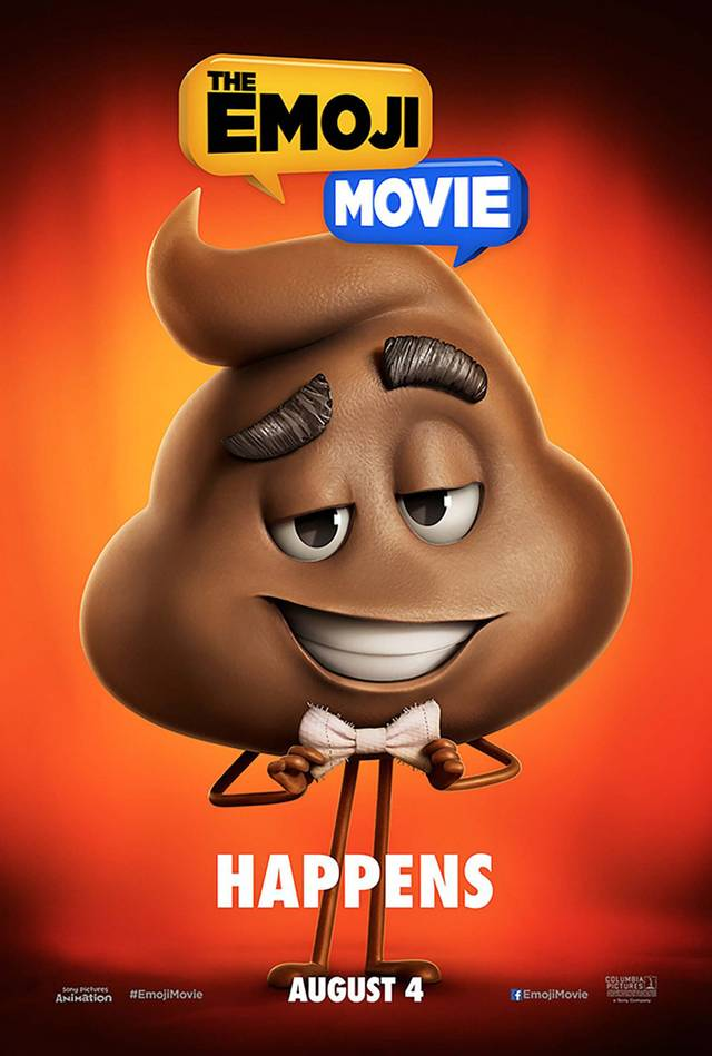 The Emoji Movie Teaser Character Poster USA 04