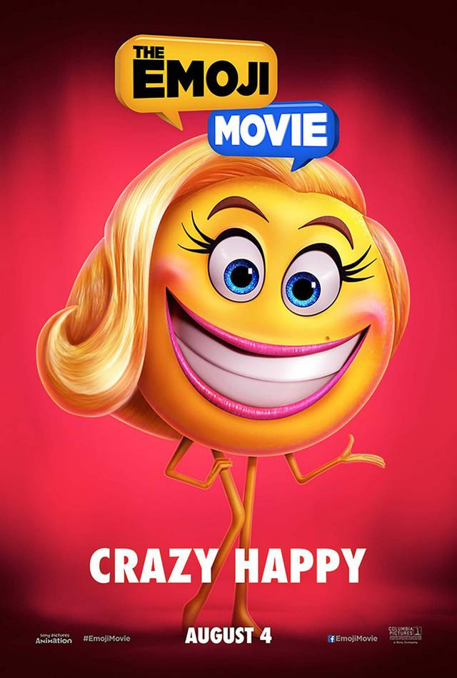 The Emoji Movie Teaser Character Poster USA 05