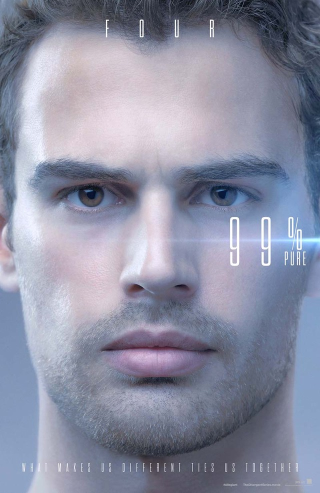 The Divergent Series Allegiant Theo James Teaser Character Poster USA