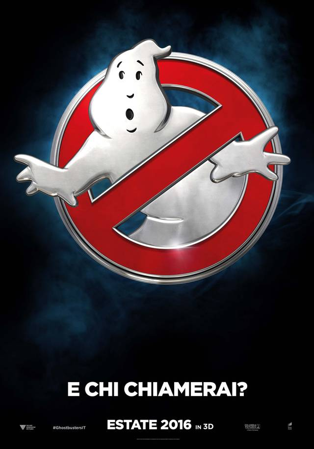 Ghostbusters Teaser Poster Italia