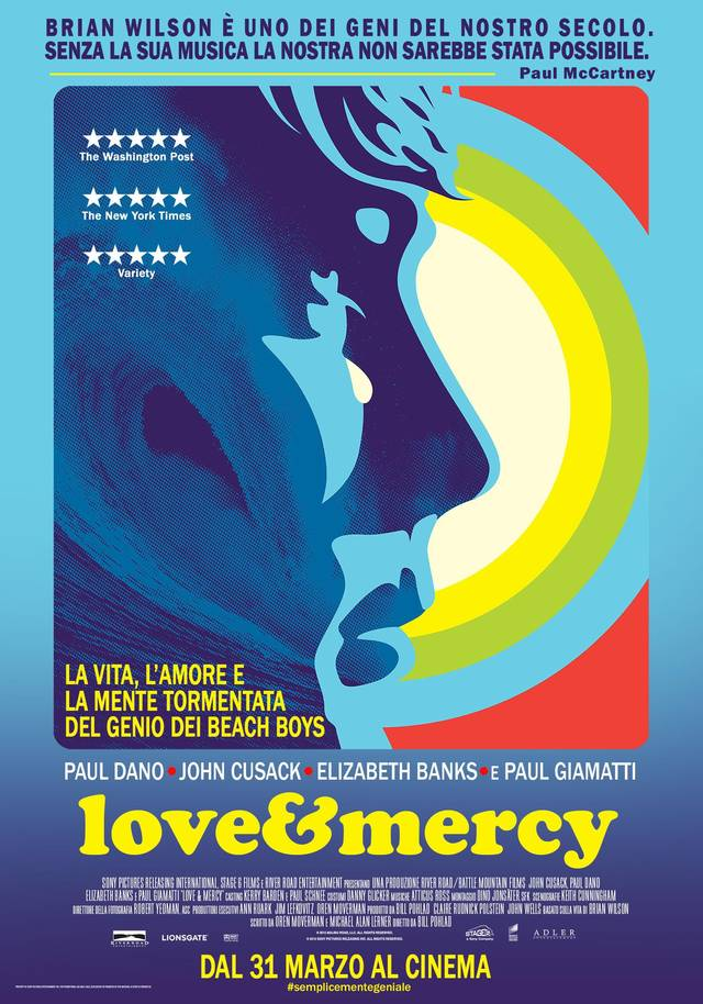 Love and Mercy Teaser Poster Italia