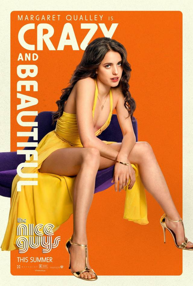 The Nice Guys Margaret Qualley Teaser Character Poster USA 4