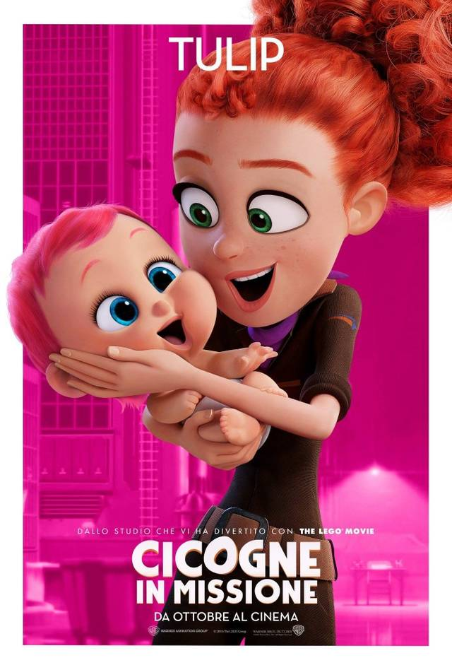 Cicogne in missione Character Poster Italia 01