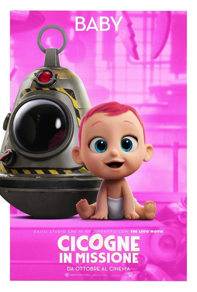 Cicogne in missione Character Poster Italia 02