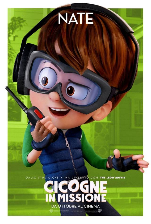 Cicogne in missione Character Poster Italia 03