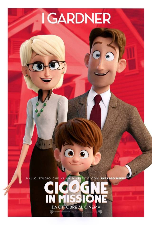 Cicogne in missione Character Poster Italia 04