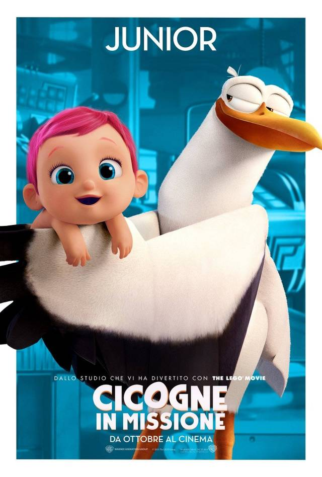 Cicogne in missione Character Poster Italia 06