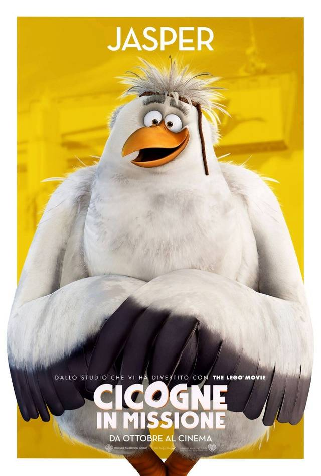 Cicogne in missione Character Poster Italia 08