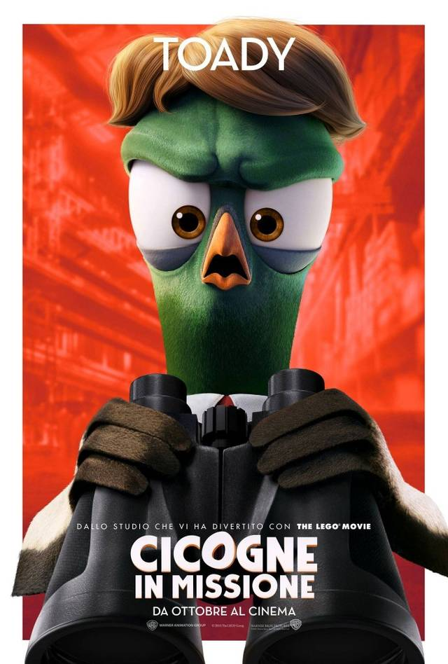 Cicogne in missione Character Poster Italia 09