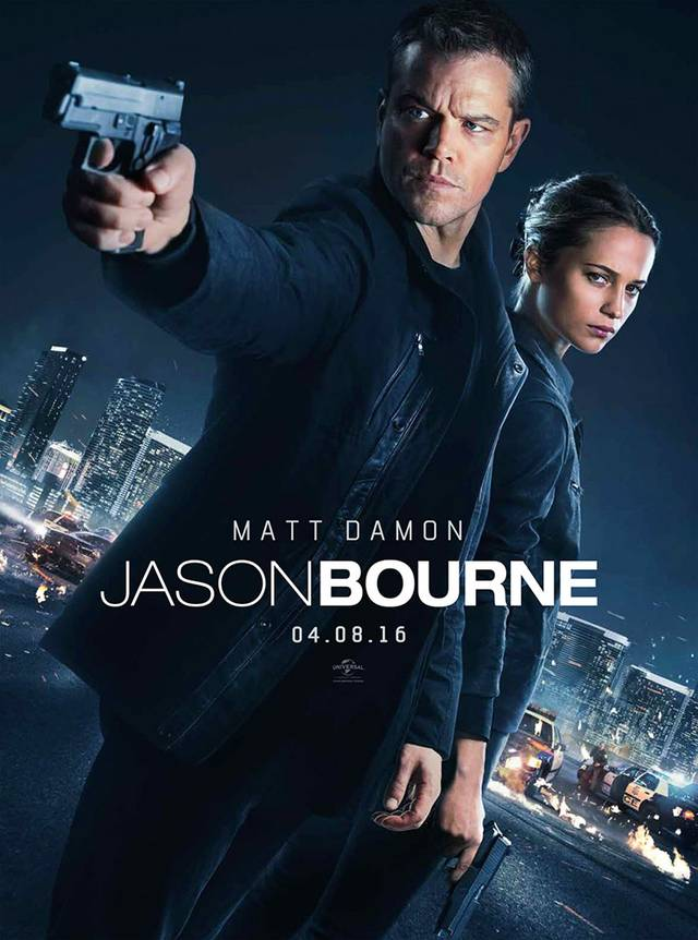 Jason Bourne Teaser Poster USA 02
