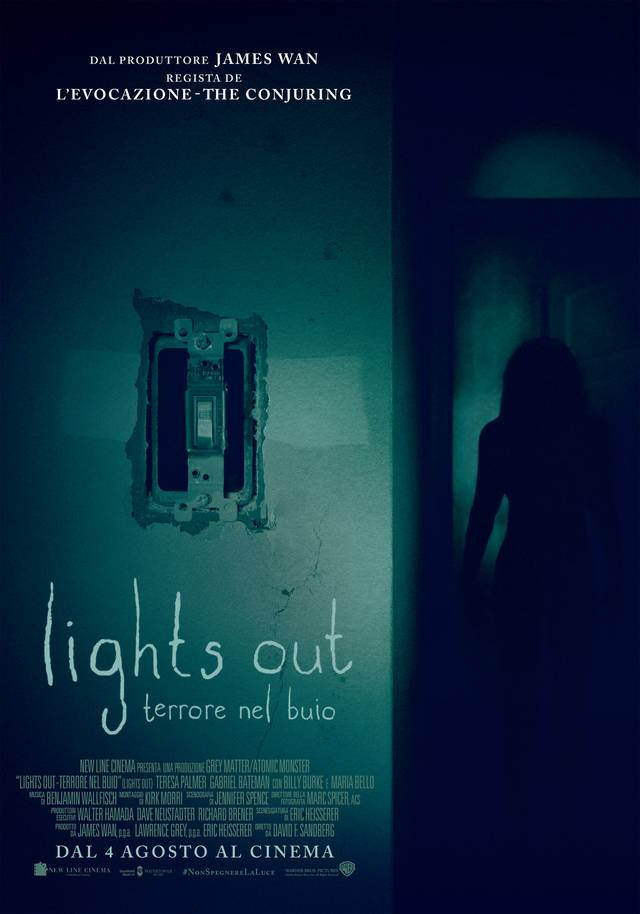 Lights Out Poster Ufficiale Italia 01