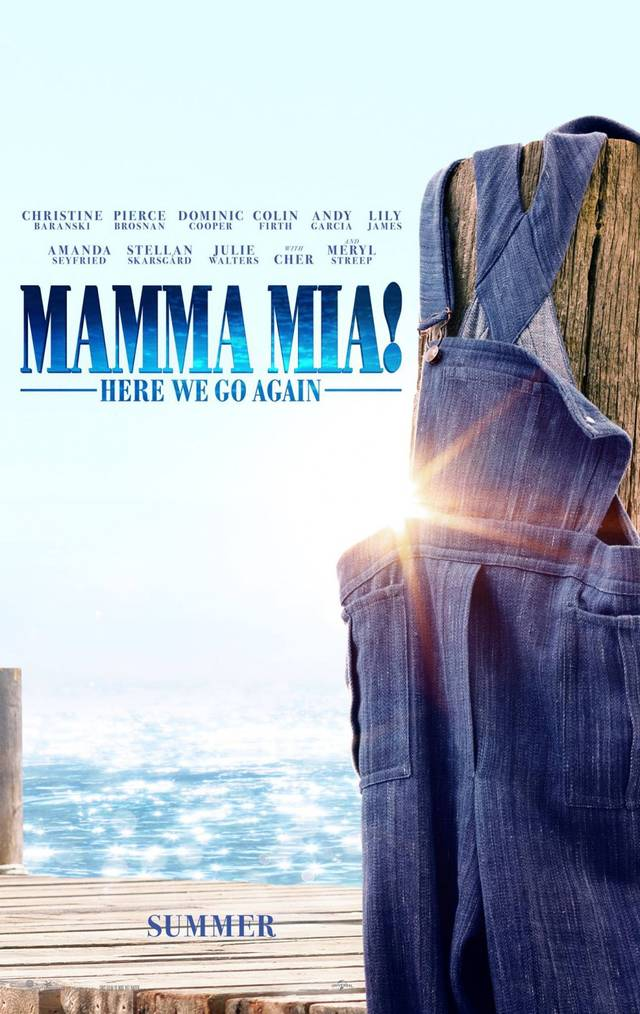Mamma Mia - Here We Go Again Teaser Poster USA