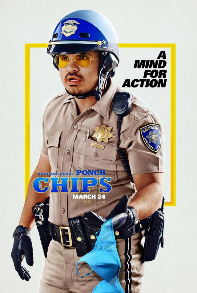 CHiPS Teaser Character Poster USA 1