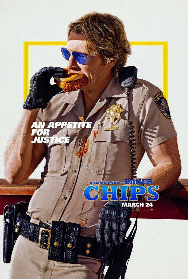CHiPS Teaser Character Poster USA 2