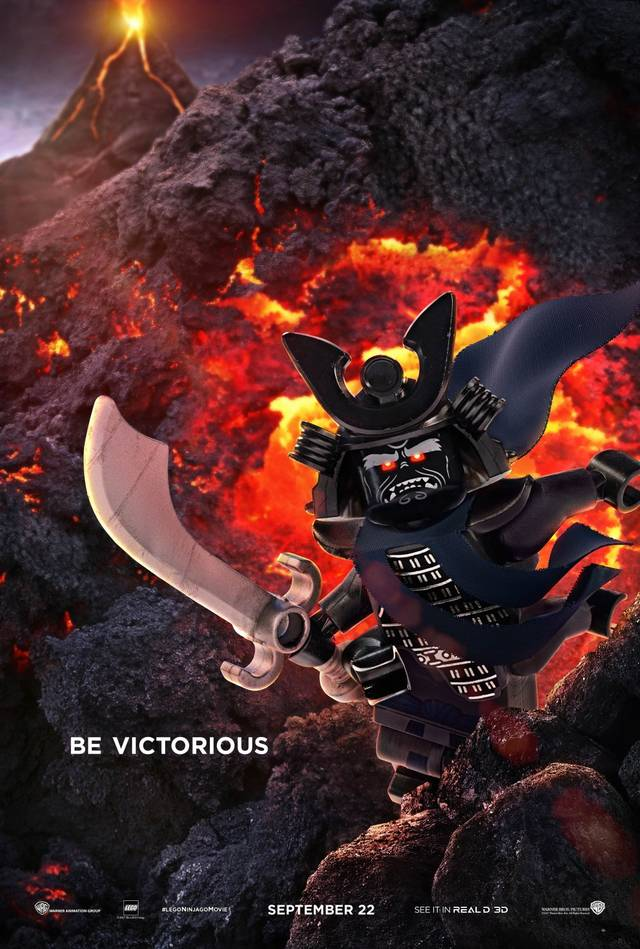 The LEGO Ninjago Movie Teaser Character Poster USA 2
