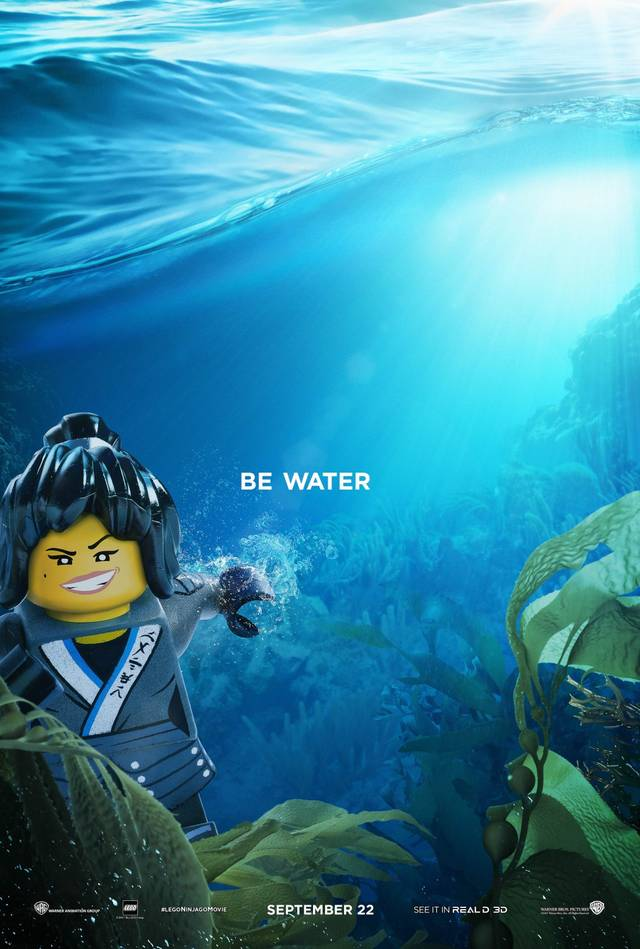 The LEGO Ninjago Movie Teaser Character Poster USA 4