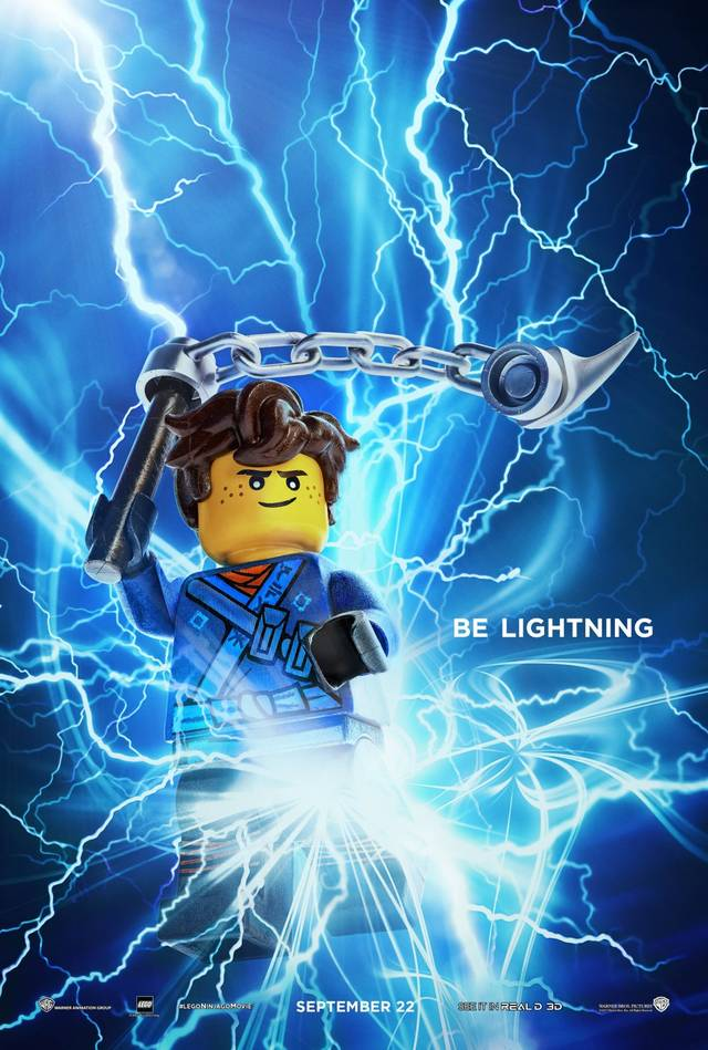 The LEGO Ninjago Movie Teaser Character Poster USA 6