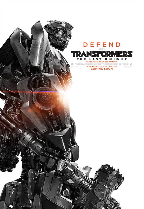 Transformers- L'Ultimo Cavaliere Character Poster USA 01