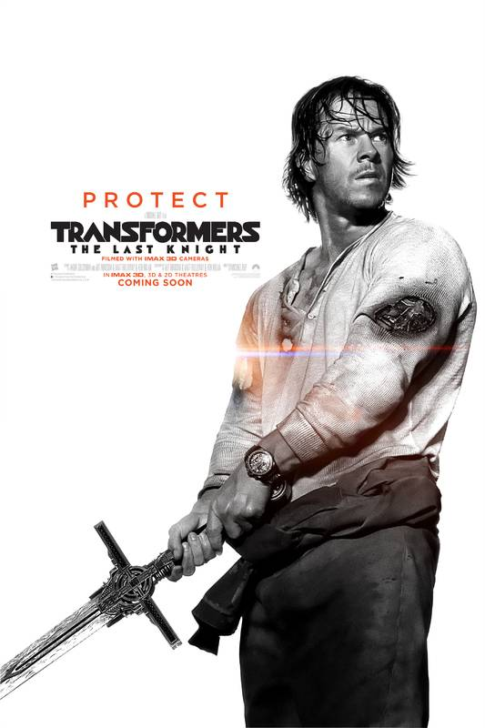 Transformers- L'Ultimo Cavaliere Character Poster USA 02