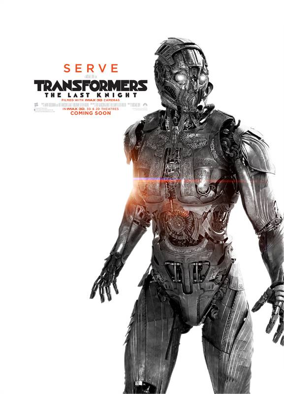 Transformers- L'Ultimo Cavaliere Character Poster USA 03