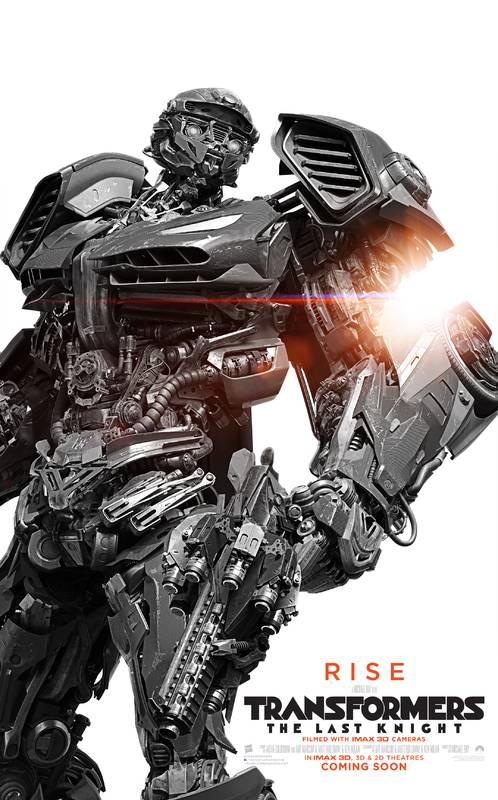 Transformers- L'Ultimo Cavaliere Character Poster USA 04
