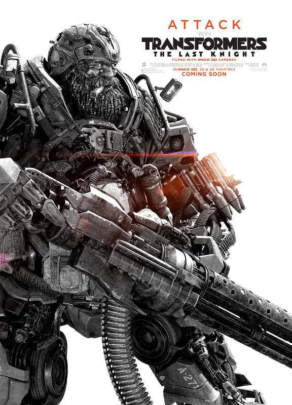 Transformers- L'Ultimo Cavaliere Character Poster USA 05
