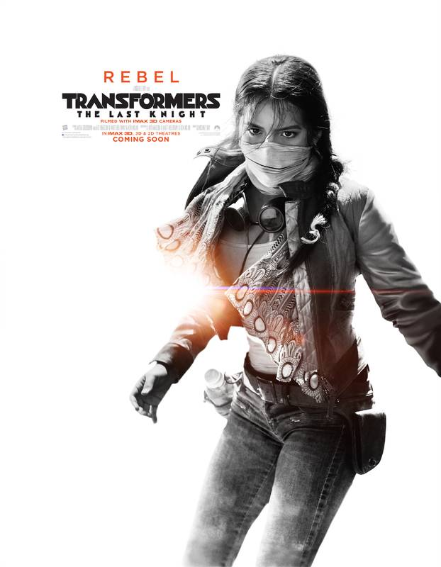 Transformers- L'Ultimo Cavaliere Character Poster USA 06