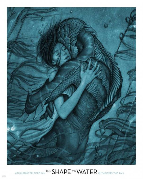 The Shape of Water Teaser Poster USA
