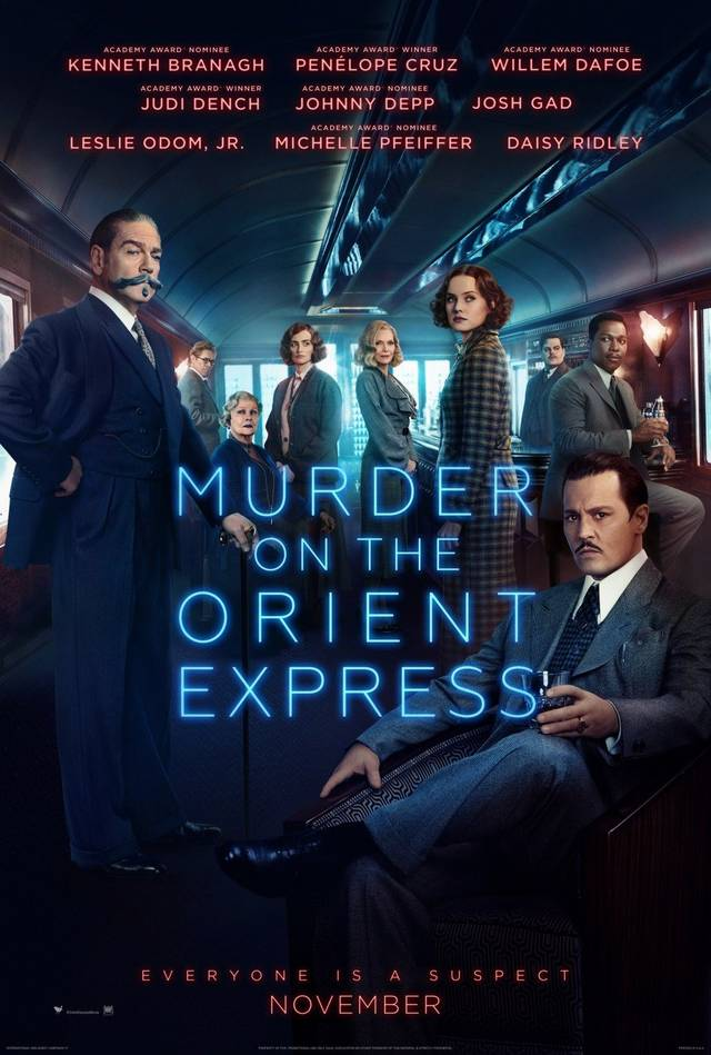 Assassinio sull'Orient Express Poster USA 02
